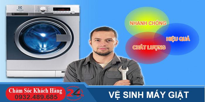 Vệ sinh máy giặt tại nhà tphcm