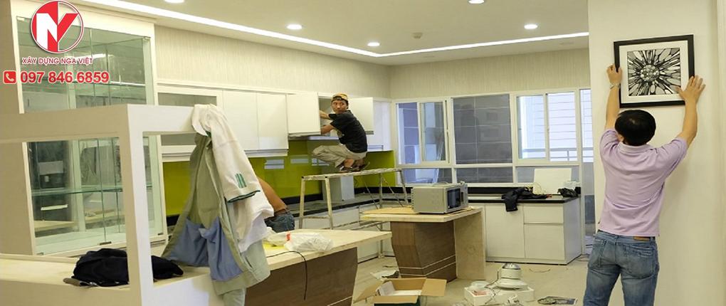 Đơn vị thi công sửa nhà hoàn thiện