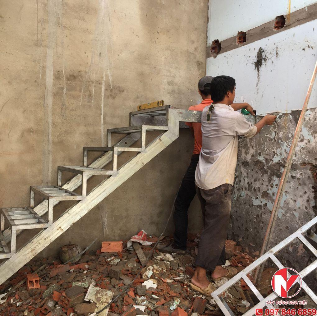 Thi công sửa chữa nhà tại Nga Việt