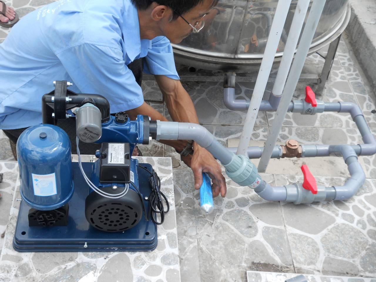 Sửa đường ống nước tại quận 7