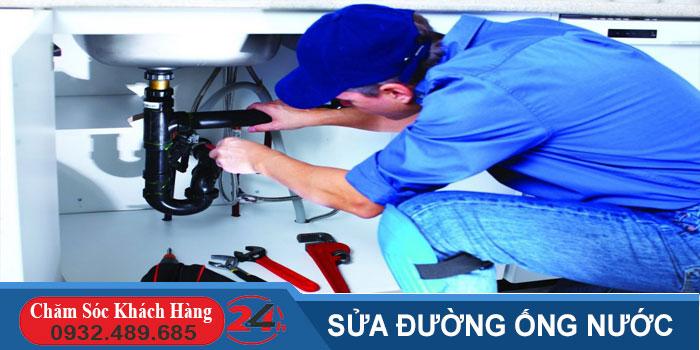 Sửa đường ống nước tại quận 12 nhanh