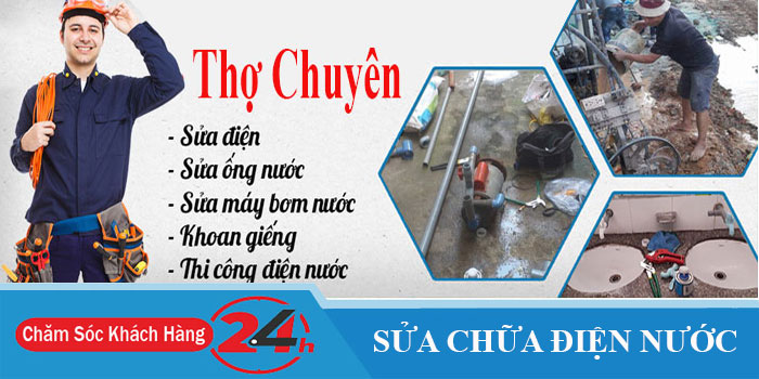 Thợ sửa chữa điện nước ở TPHCM uy tín