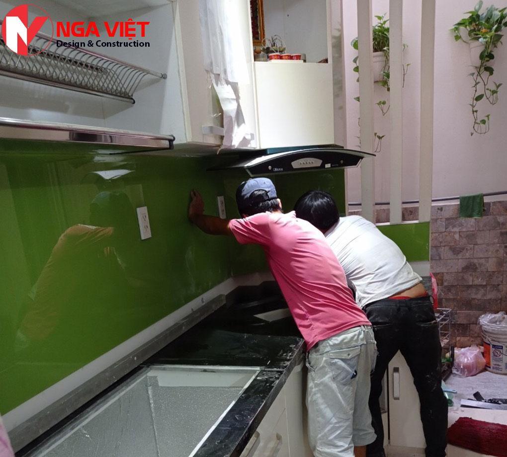 Sửa nhà bếp nga Việt