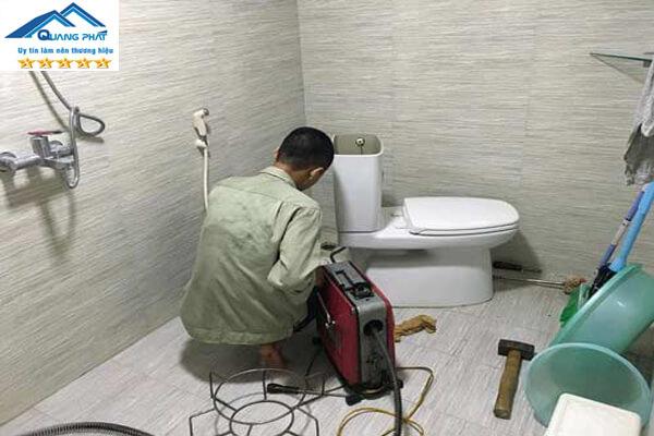Sửa chữa cầu cống nghẹt giá rẻ, chất lượng, hiệu quả cao