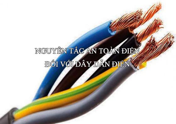 Nguyên tắc an toàn khi sử dụng điện