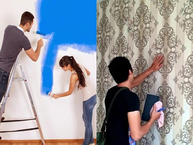 Có nên sử dụng giấy dán tường?