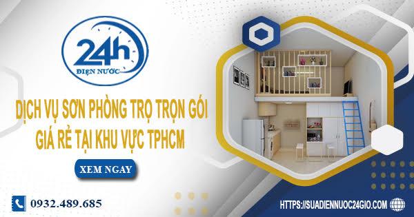 Dịch vụ sơn phòng trọ trọn gói giá rẻ tại khu vực TPHCM